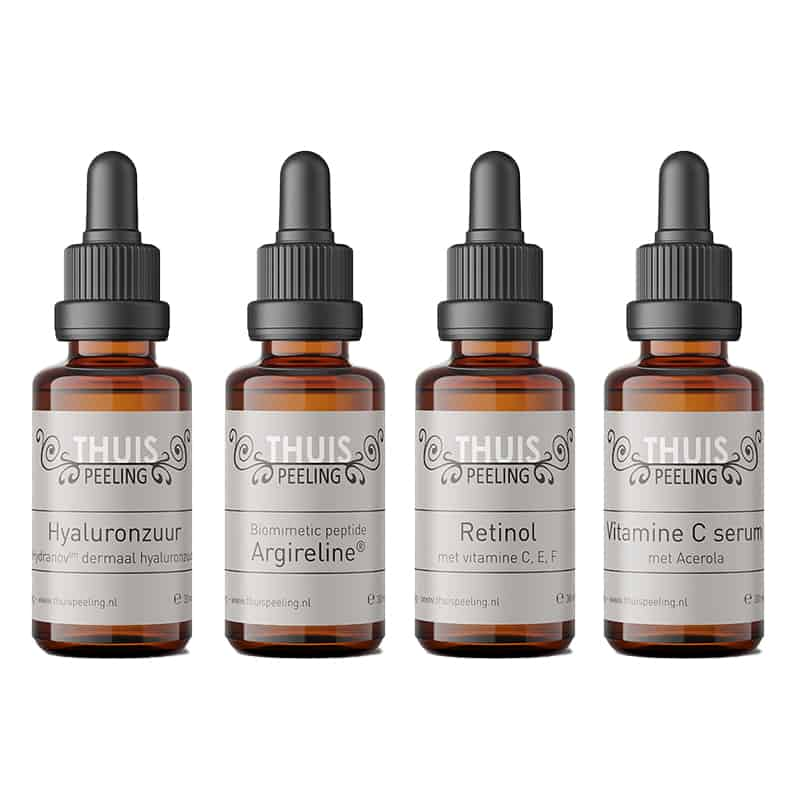 Totaalpakket 4 X TOP Serum