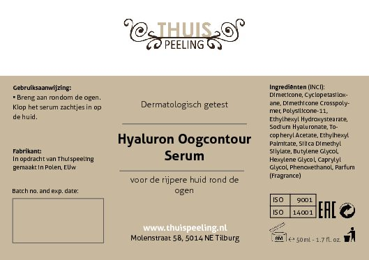 Hyaluronic Eye Wrinkle filler